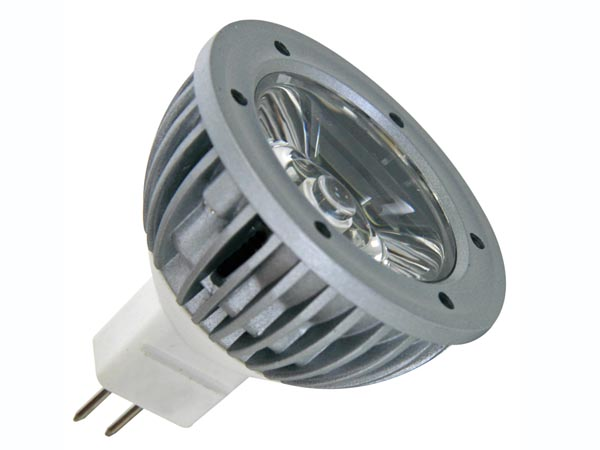 BOMBILLA LED 1W - COLOR BLANCO NEUTRO (3900-4500K) - 12VAC/DC - MR16