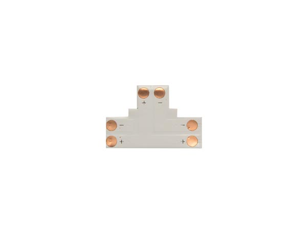 CONECTOR DE CI FLEXIBLE – FORMA DE ´T´ – 8 mm 1 COLOR