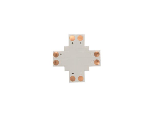 CONECTOR DE CI FLEXIBLE – FORMA DE ´+´ - 10 mm 1 COLOR