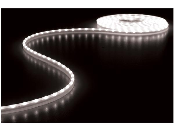CINTA DE LEDs FLEXIBLE - COLOR BLANCO FRÍO 6500K - 300 LEDs - 5m - 12V