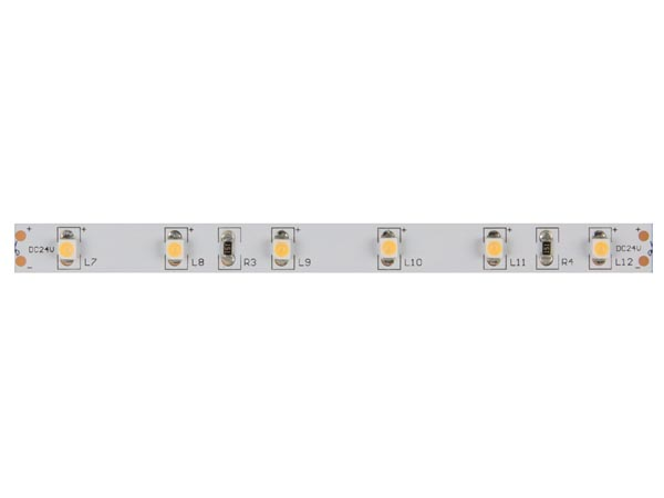 CINTA DE LEDs FLEXIBLE - COLOR BLANCO CÁLIDO 3500 K - 600 LEDs - 10 m - 24 V