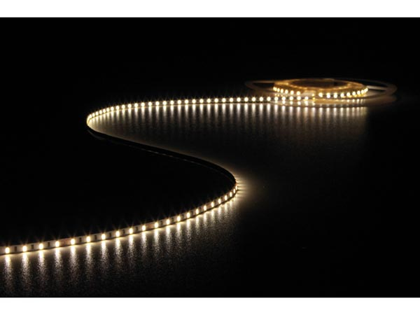 CINTA DE LEDs FLEXIBLE - COLOR BLANCO NEUTRO 4500K - 600 LEDs - 5m - 24V