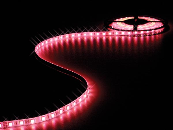 CINTA DE LEDs FLEXIBLE - RGB - 300 LEDs - 5m - 24V