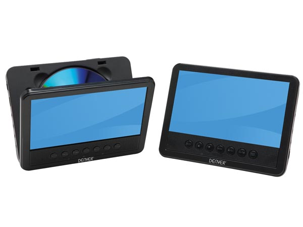 MTW-756TWIN NB - Portable DVD-player with 7´ LCD screen + extra