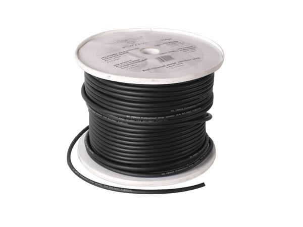 CABLE ALTAVOZ PROFESIONAL 2x1.50mm² NEGRO