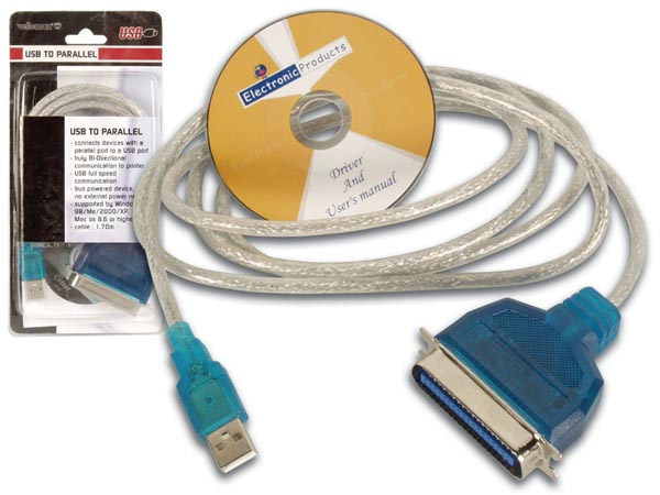 CABLE USB - PARALELO (CENTRONIX)
